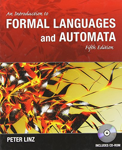 An Introduction to Formal Languages and Automata, 5th Edition by Brand: Jones Bartlett Learning