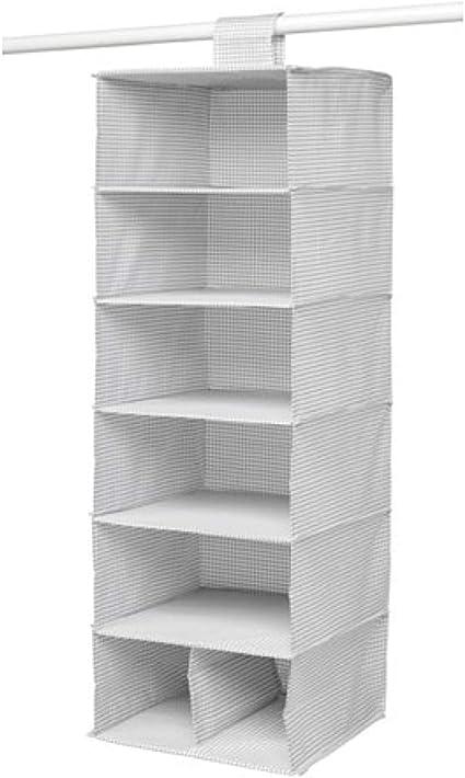 IKEA Stuk Almacenamiento con 7 compartimentos blanco gris ...