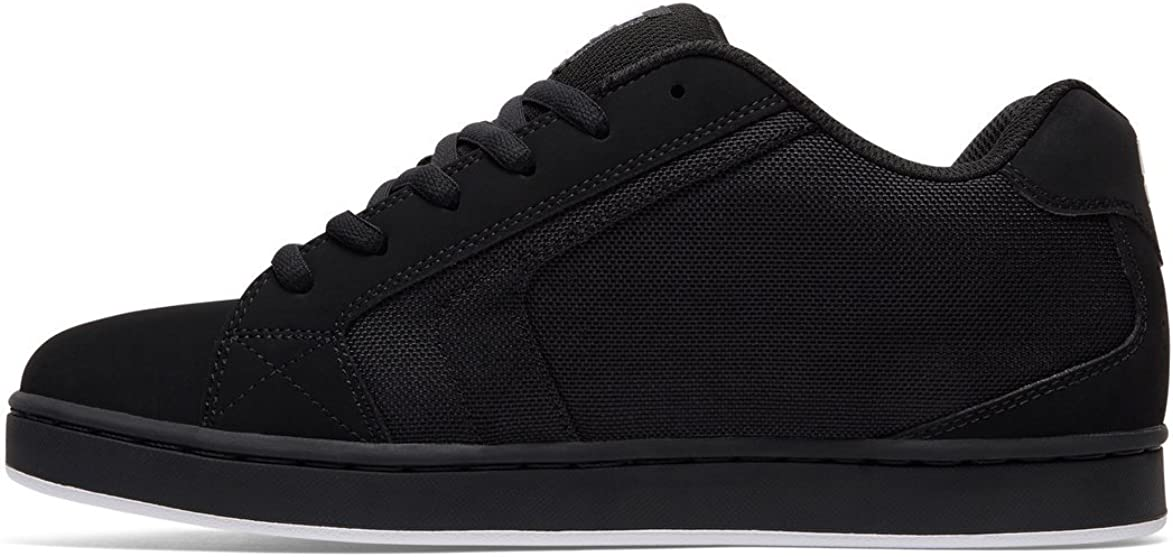 DC Shoes Mens Shoes Net Se - Low-Top Shoes - Men - US Black/White/Black