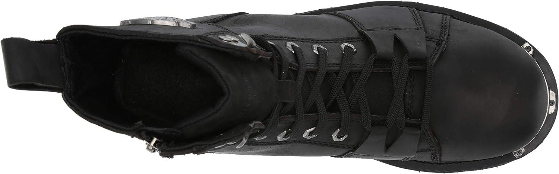 13 M US HARLEY-DAVIDSON FOOTWEAR Mens SPERLING Motorcycle Boot Black
