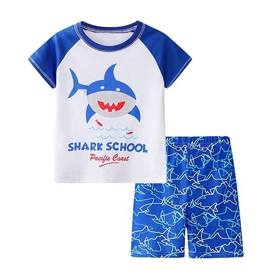 Berimaterry Pijama para niños de Dinosaurio para Coches y ...
