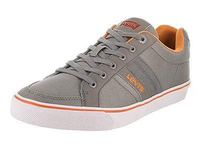 Levi's Men's Turner Grey/Orange Casual Shoe ...