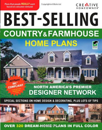 Best-Selling Country & Farmhouse Home Plans (CH) (English and English Edition) by Creative Homeowner (Image #1)