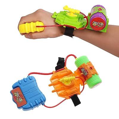 Papamsy Children's Spray Toy Wrist Water Gun Beach Water Toy Water Spray Portable Kids Pleasure: Toys & Games