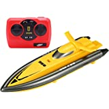 Huanqi Technology 2.4GHz High Speed Remote Control Electric Toy Boat Racing RC Motor Boat