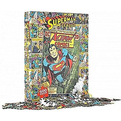 500 pièces Superman classique Man Of Steel puzzle cadeau de puzzle DC Comics officielle