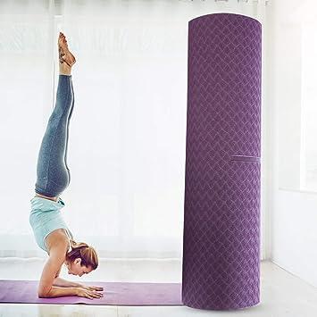 Colchoneta de yoga, colchoneta de ejercicios de ejercicio ...