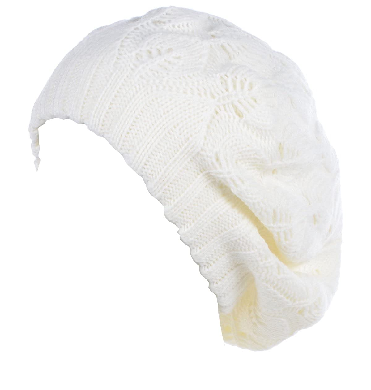 Be Your Own Style HAT レディース B074CP95ZD  Off-white Leafy
