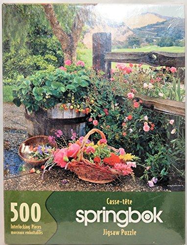 Country Garden Puzzle 500 Pieces by Springbok - Carmel Valley Ranch