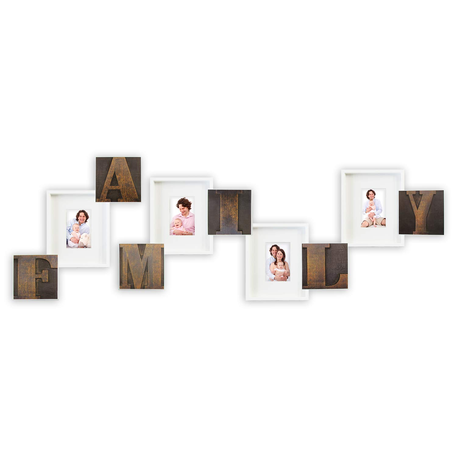Amazoncom Jerry Maggie Family Photo Frame Wall Hanging