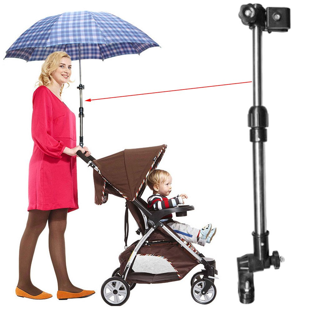 Deanyi Handicraft Adjustable Stroller Sunshade Umbrella Support Baby Chair Bar Holder Baby Game Stroller accessories