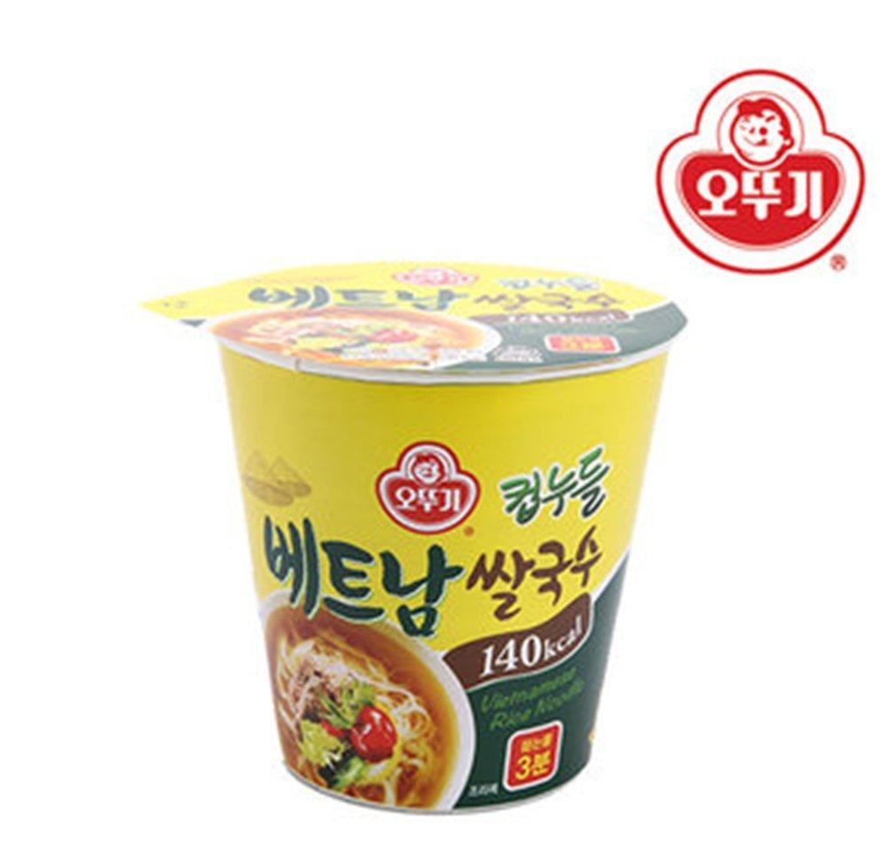 Ottogi noodle cup Vietnamese rice noodle 47g5 PCS Nutritious snack Low calorie food 140 kcal