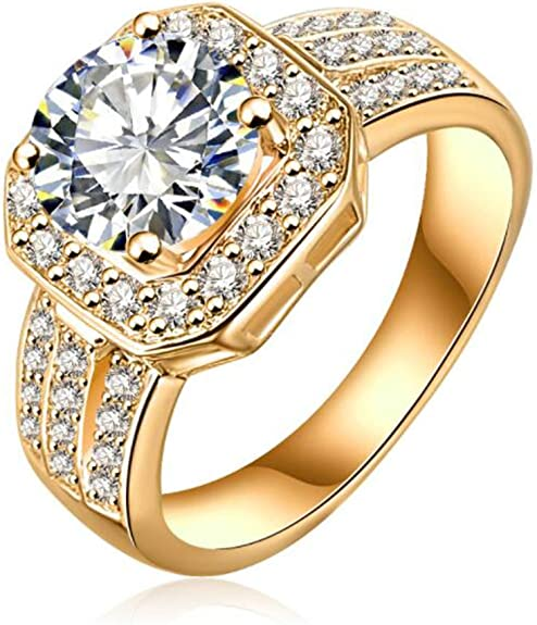 2.72 Round Cut Halo Pave Pink Simulated Diamond Designer Promise Engagement Wedding Bridal Ring Band set 14k White Gold