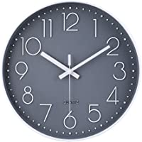 jomparis Reloj de pared moderno,grandes decorativos Silencioso interior