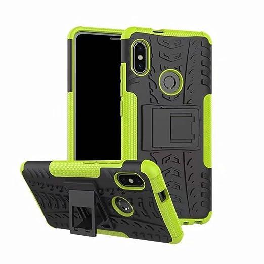 FaLiAng XiaoMi RedMi Note 5 (6,0inch) Funda, 2in1 Armadura Combinación A Prueba de Choques Heavy Duty Escudo Cáscara Dura para XiaoMi RedMi Note 5 (6,0inch) (Verde): Amazon.es: Hogar