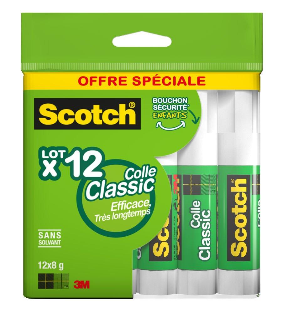Scotch - Bâton de Colle Economique 8g - Lot de 5 6208SF5 Bâtons de colle