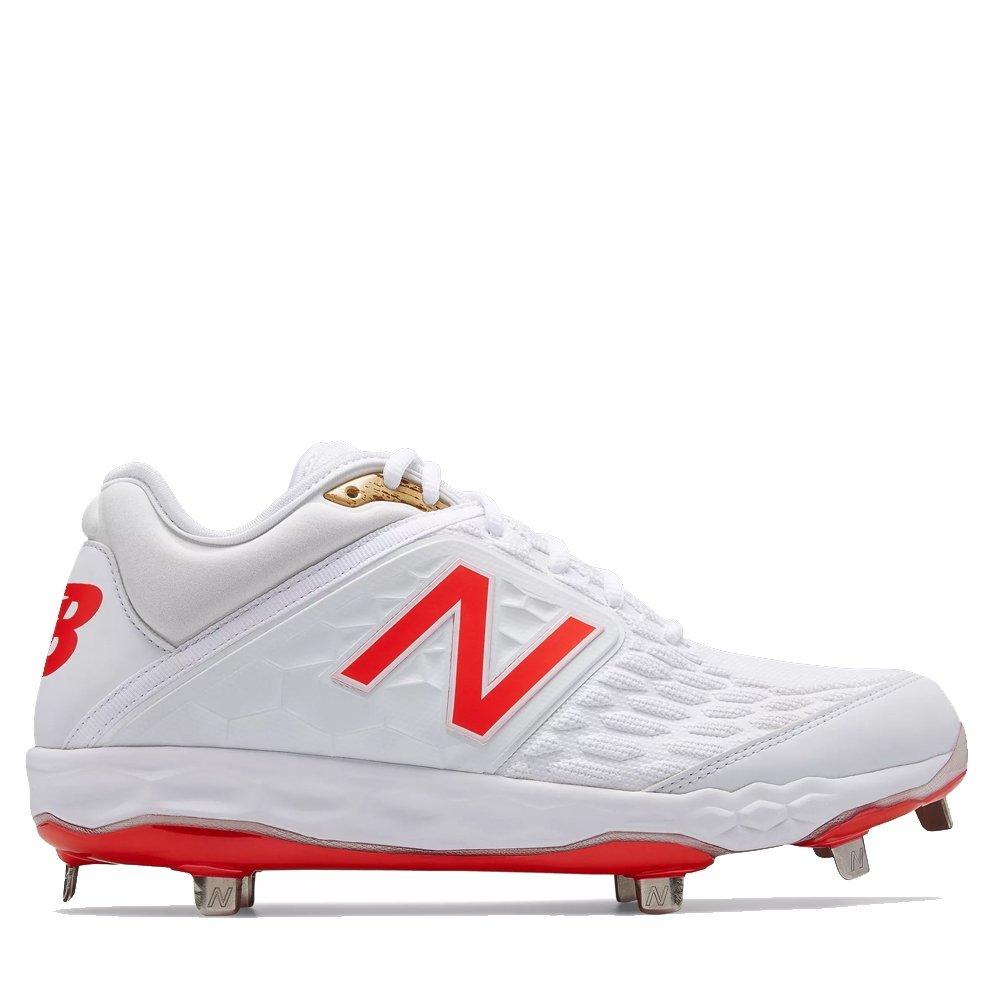 New Balance Men's 3000v4 Baseball Shoe B075R7KXWG 6.5 2E US|White