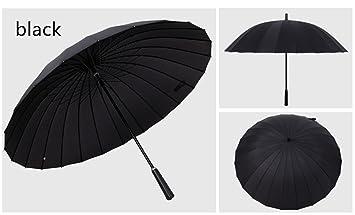 24 huesos paraguas de largo grandes hombres y mujeres paraguas creativo doble tres viento y lluvia