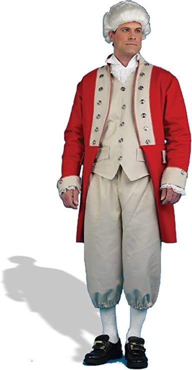 Mens Lord Nelson Sailor British Admiral War Fancy Dress Costume