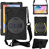 "ZenRich Galaxy Tab S6 Lite Case 10.4"", SM-P610/P615 Case with S Pen Holder zenrich Shockproof Rugged Case with Stand Hand Str"