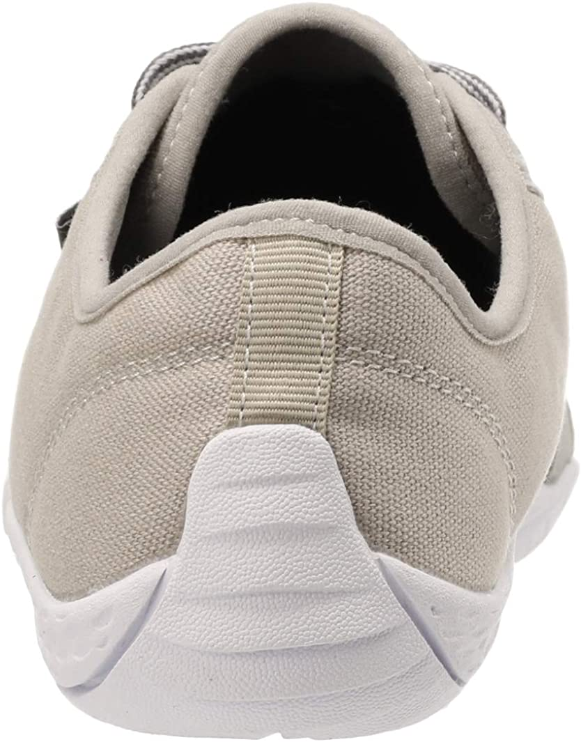 Arch Support Zero Drop Sole Whitin Mens Canvas Barefoot Sneakers Wide Fit Shoes Clothing Shoes Jewelry