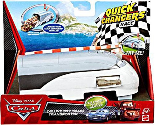 (Cars 2 Quick Changers Transforming Spy Train Transporter)