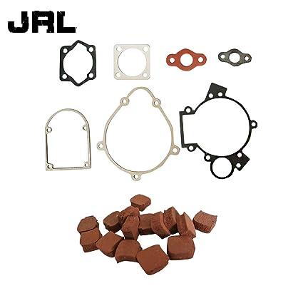 jrl 80 cc kit de juntas y motor de goma almohadillas de embrague ajuste para 80