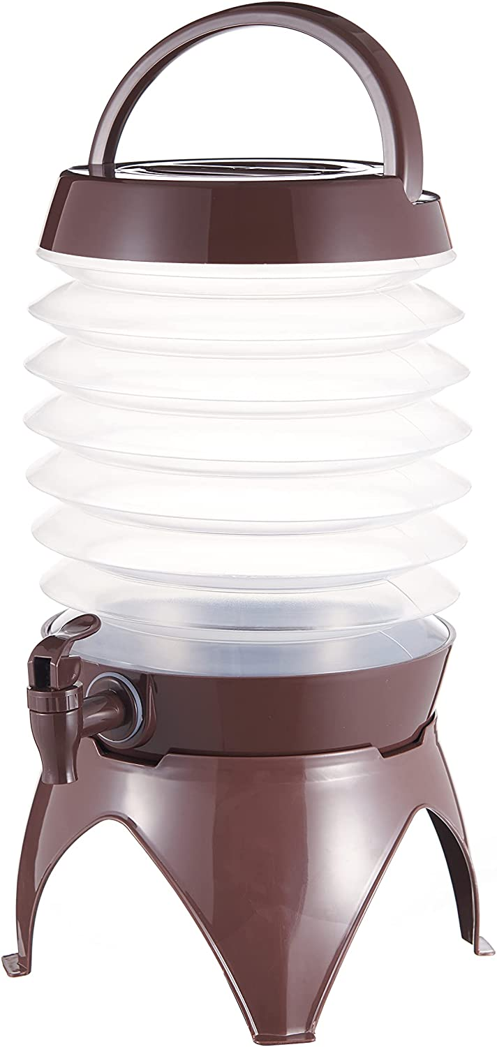 gleehome Beverage Dispenser,Lemonade Drink Dispensers for Parties,1.5 Gallon,Clear,with Stand Spigot