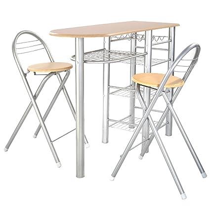 3 mesa auxiliar para cocina juego de desayuno de cocina ...