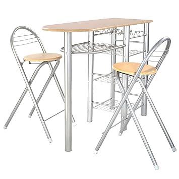 küchenbar mit zwei stühlen in hannover - mitte | ebay ...