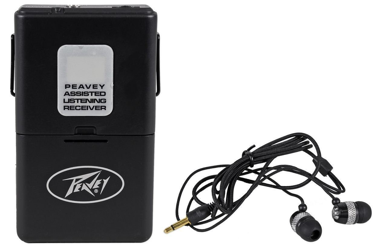(4) Peavey ALSR 72.9 Mhz Assisted Listening Receiver Body Packs for ALS 72.9 System by Peavey (Image #6)