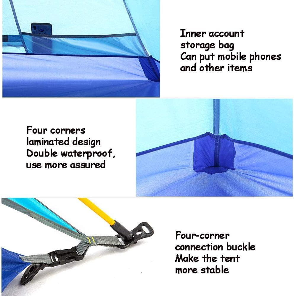 GUOYULIN Super Leichtes Schnellöffnungs-Wurfzelt Instant Pop Up Zelte Für 2-3 Personen Familie Extra Light Automatisches Strandzelt Für Camping Trekking Outdoor C