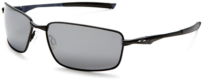 Oakley Men s Splinter Iridium Polarized Sunglasses,Black Frame Black Irid  Lens,one size e3784d6525b3