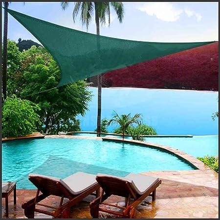 Toldo Para Jardin Patio Vela de sombra 3 x 3 x 3 m terraza o balcón - Color Verde Sun Shade: Amazon.es: Hogar