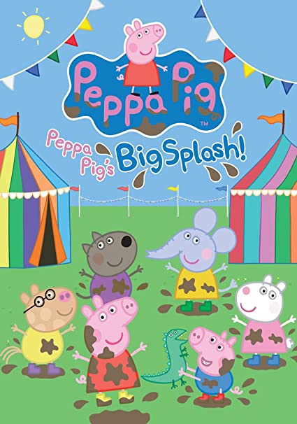 Peppa Pig Large A0 Size Poster 33Inch X 46Inch Can Be Personalised