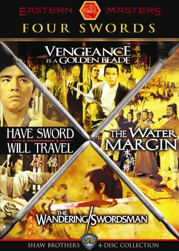 Four Swords: Shaw Brothers 4-Disc Collection (Vengeance Is a Golden Blade / The Water Margin / The Wandering Swordsman / Have Sword Will Travel) by Image Entertainment