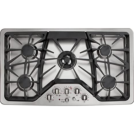 GE Cafe CGP650SETSS 36u0026quot; Built In Gas Cooktop