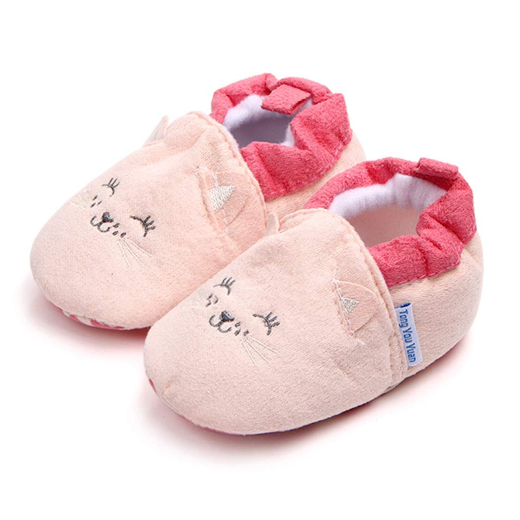 Baby Slippers Cartoon Winter Socks Anti-Slip Sole Baby House Infant Shoes Toddler Slippers Moccasins First Walker Newborn Crib Shoes