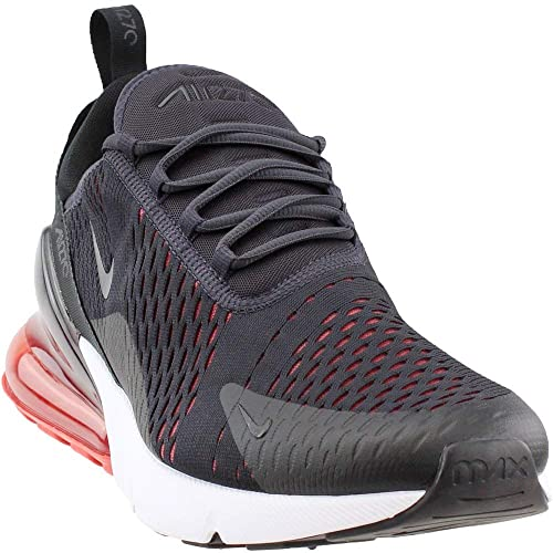 official photos fcfdb c9aa1 Nike Air Max 270 AH8050-013 Oil Grey/Habanero Red/Black Men's Running Shoes  9.0