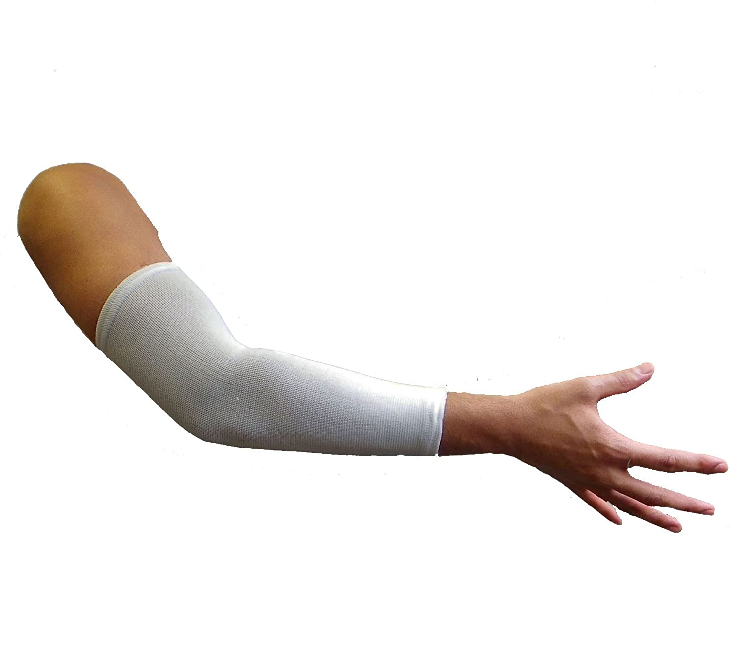 Opttiuuq Cricket Elbow Sleeve Pack of 1 Arm Elbow Guard Youths//Ladies Size