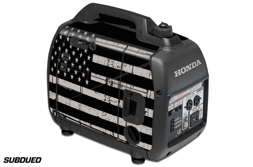 DECALS ONLY for Honda EU2000i Skin Camping Portable Generator SUBDUED