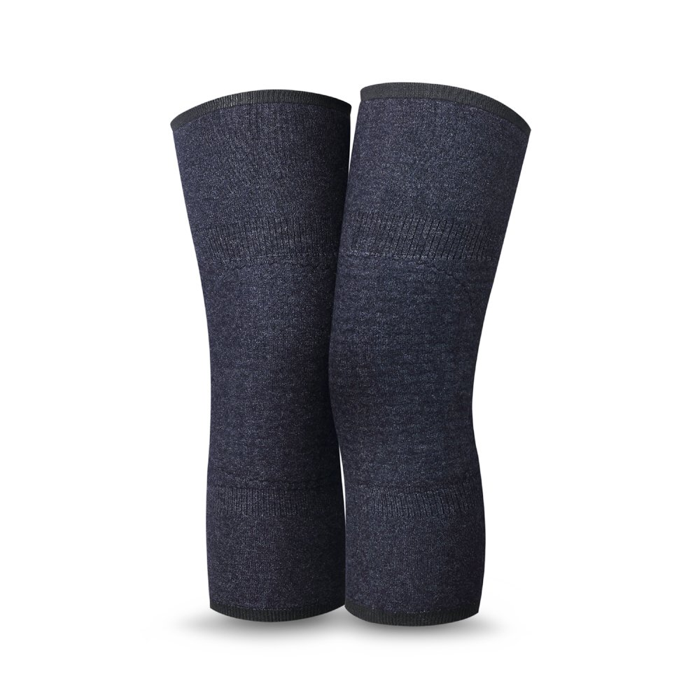 UDOARTS Cashmere Knee Warmers(1 Pair) (Grey Wave)