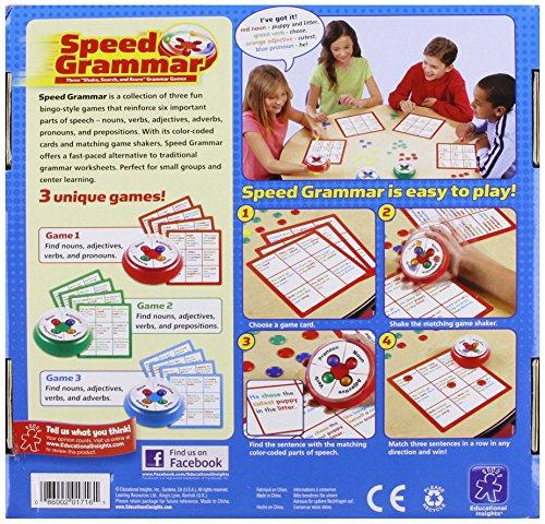 Educational Insights Speed Grammar