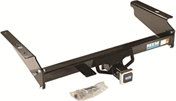 includes Hitch Plug Cover Reese Towpower Reese 33092 Class III Custom-Fit Hitch with 2 Square Receiver opening