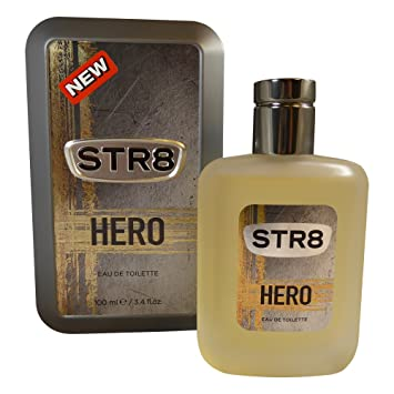 Amazoncom Str8 Hero Eau De Toilette Cologne Men 100ml 34oz Beauty
