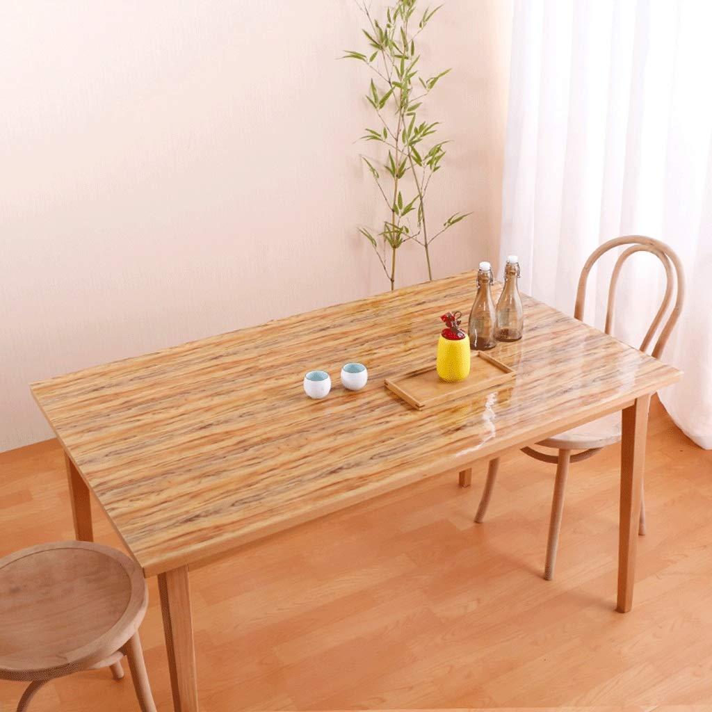 防水耐油絶縁テーブルクロススクエアレクタングルPVCカラー樹皮パターン屋内屋外テーブルカバー (サイズ さいず : 90*160センチメートル) 90*160センチメートル  B07SCJ34B1