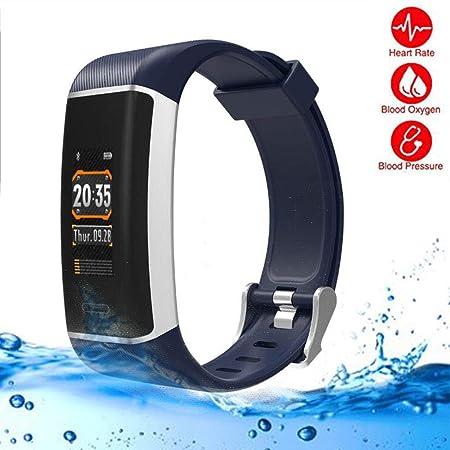 LMtt Rastreador de Fitness, elephone W7 GPS Ritmo cardíaco Pulsera ...