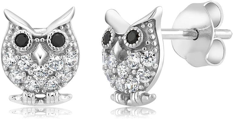 Silver Swarovski Earrings