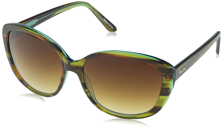 Kipling SUNGLASS FASH, gafas de sol Mujer, Verde (Green Tortoise), One Size(UK)