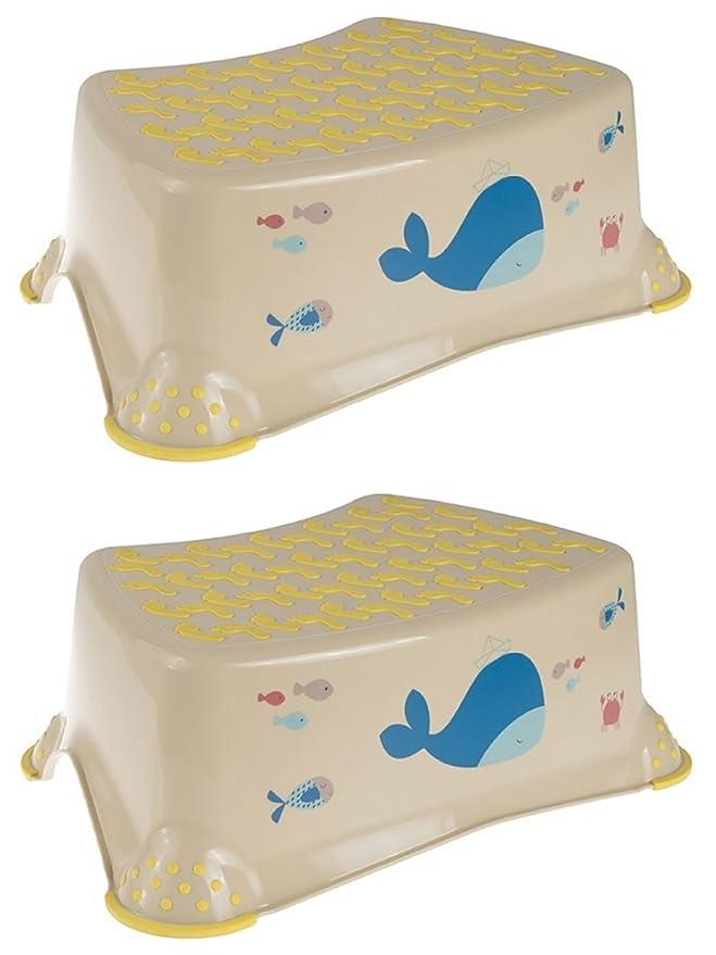 1 opinioni per Smiki Happy Friends Whale Baby bambino & Toddler step sgabelli 14cm/14cm
